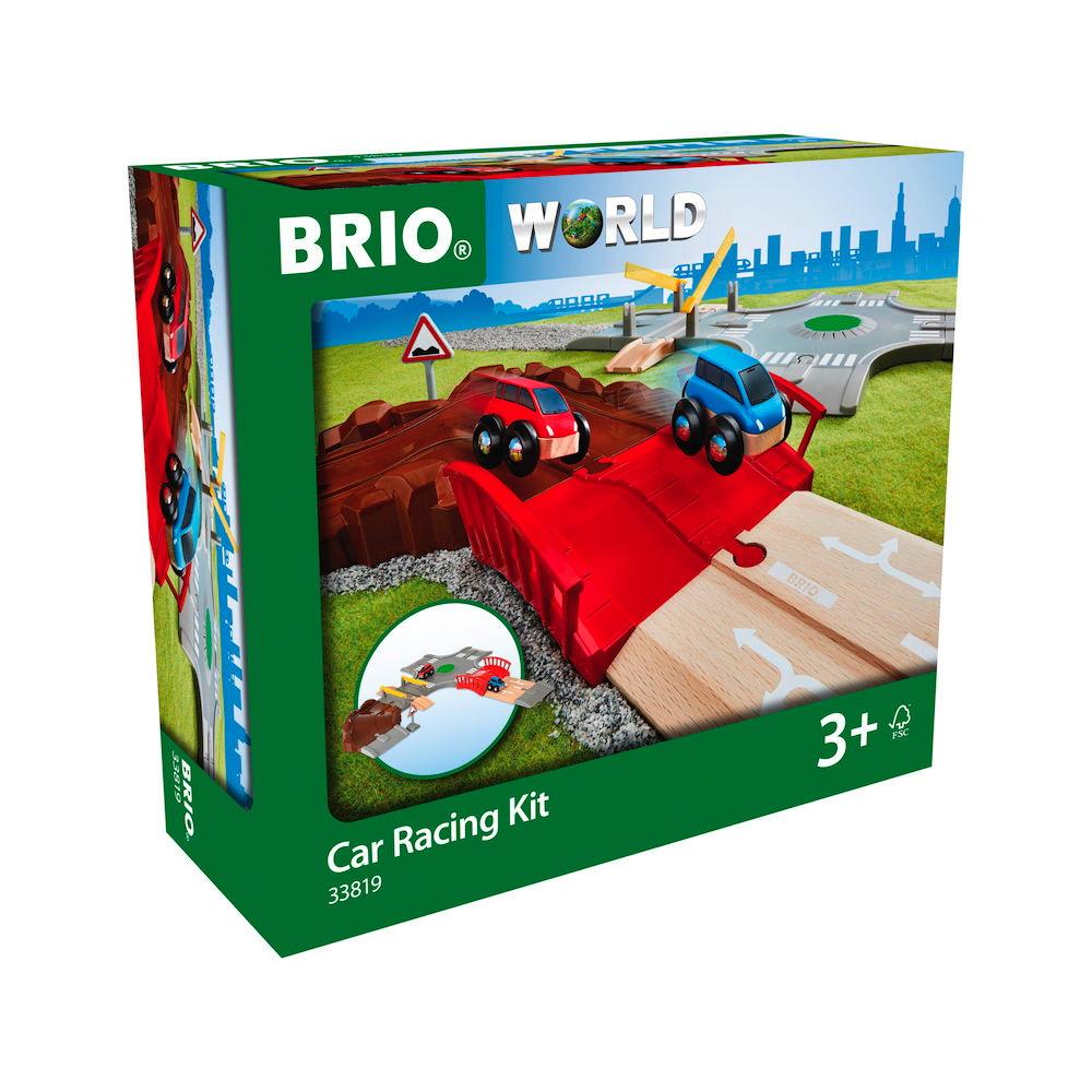 Brio World Eisenbahn Fahrzeug Auto Spielset Stadt und Land 14 Teile 33819