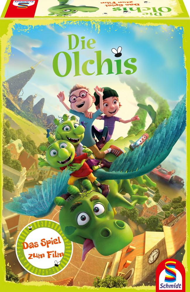 Schmidt Spiele Kinderspiel Memo-Spiel Die Olchis Das Spiel zum Film 40615