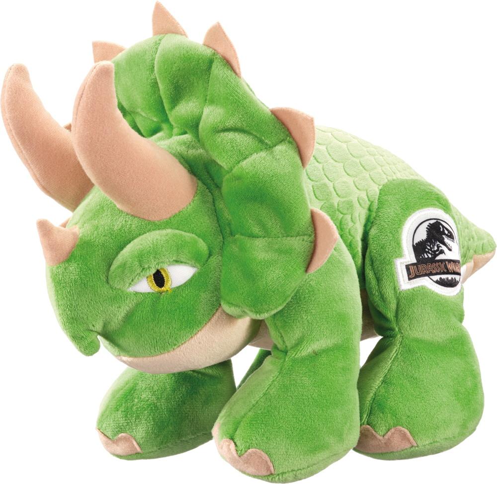 Schmidt Spiele Plüsch Stofftier Universal Jurassic World Triceratops 25 cm 42761