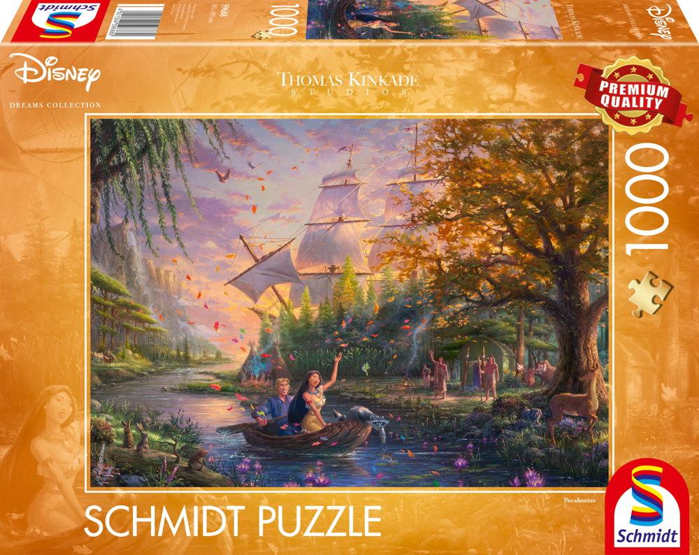 1000 Teile Schmidt Spiele Puzzle Thomas Kinkade Disney Pocahontas 59688