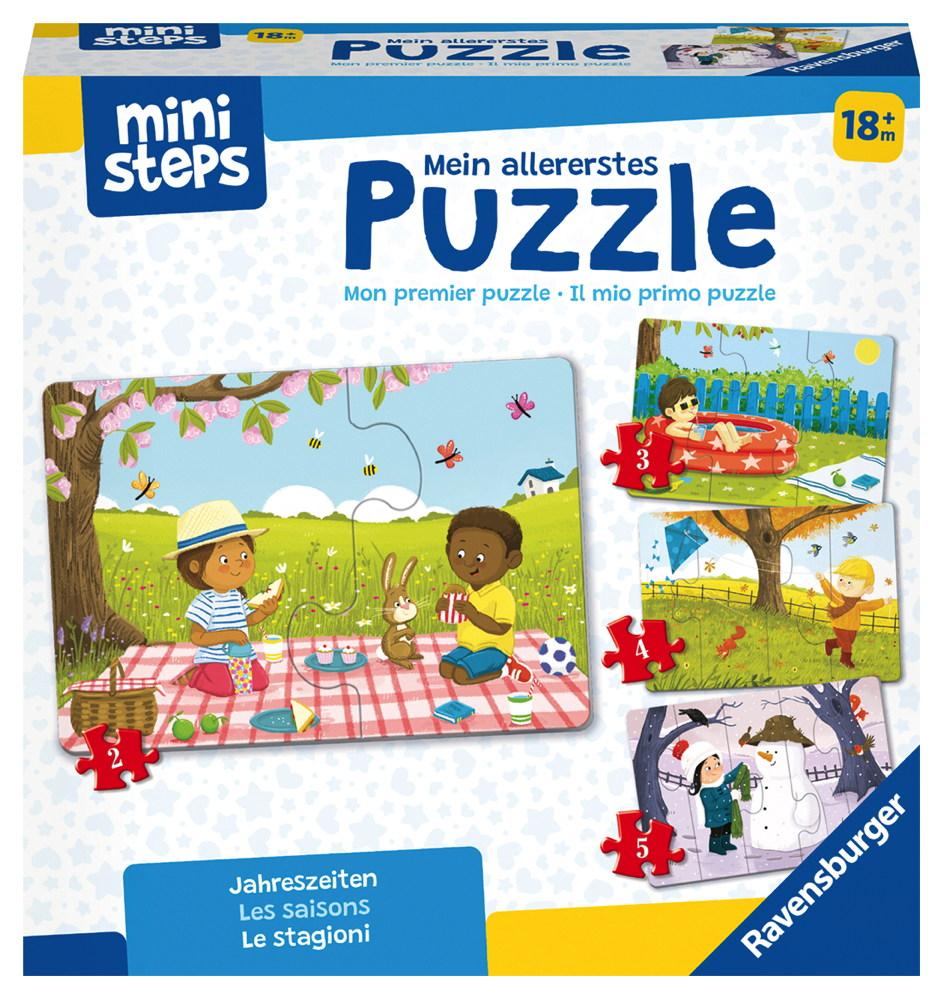Ravensburger ministeps Spielzeug Mein allererstes Puzzle Jahreszeiten 04168