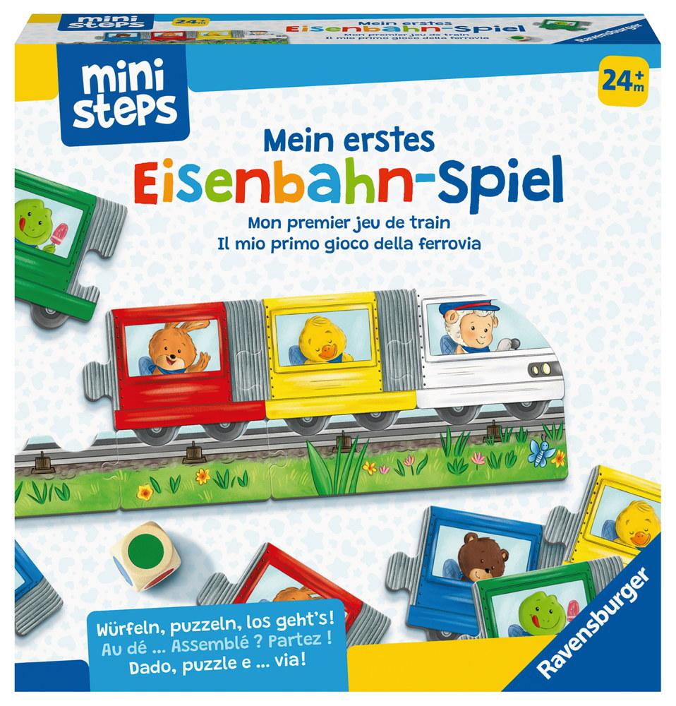 Ravensburger ministeps Spielzeug Mein erstes Eisenbahn-Spiel 04187