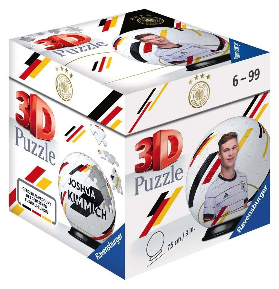 54 Teile Ravensburger 3D Puzzle Ball DFB-Team Joshua Kimmich 11191