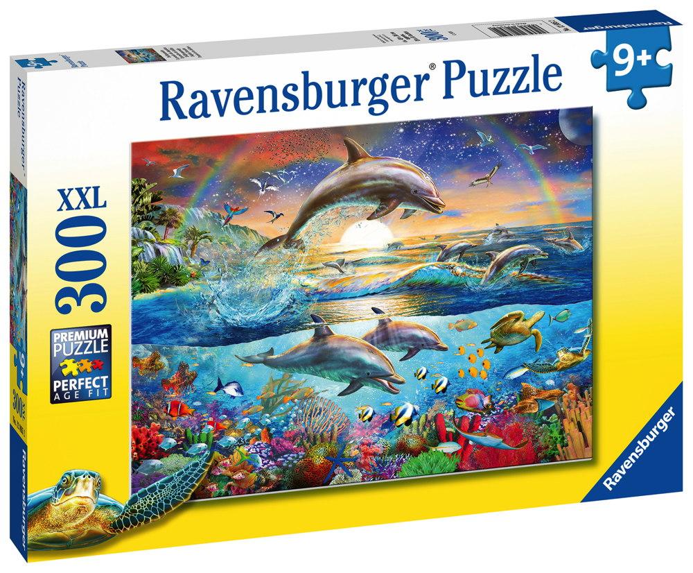 300 Teile Ravensburger Kinder Puzzle XXL Delfinparadies 12895