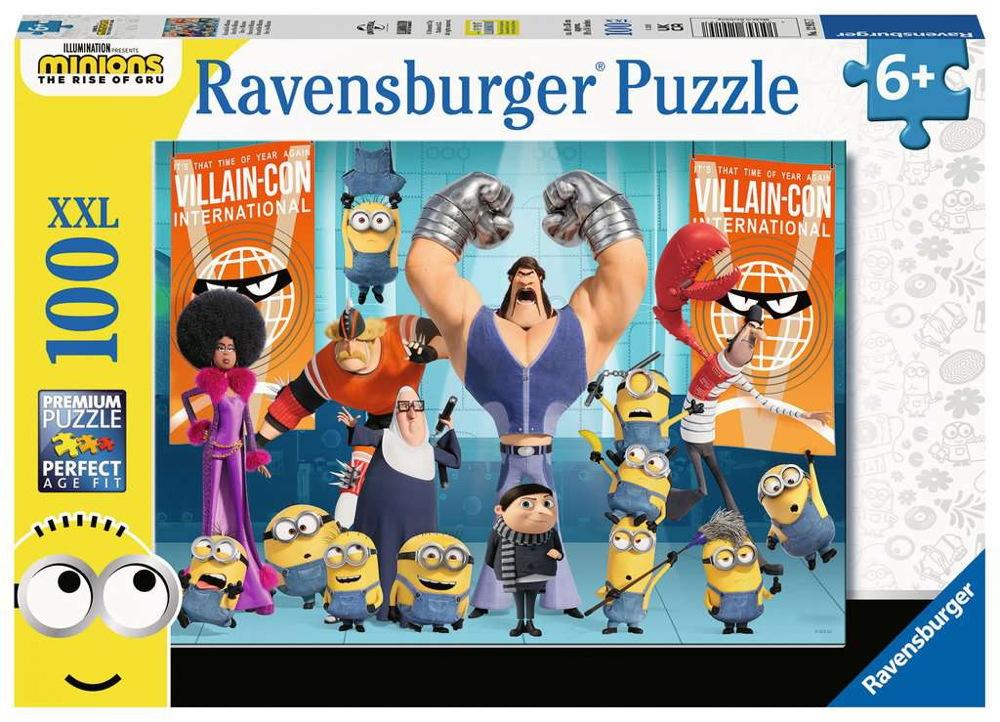 100 Teile Ravensburger Kinder Puzzle XXL Minions Gru und die Minions 12915