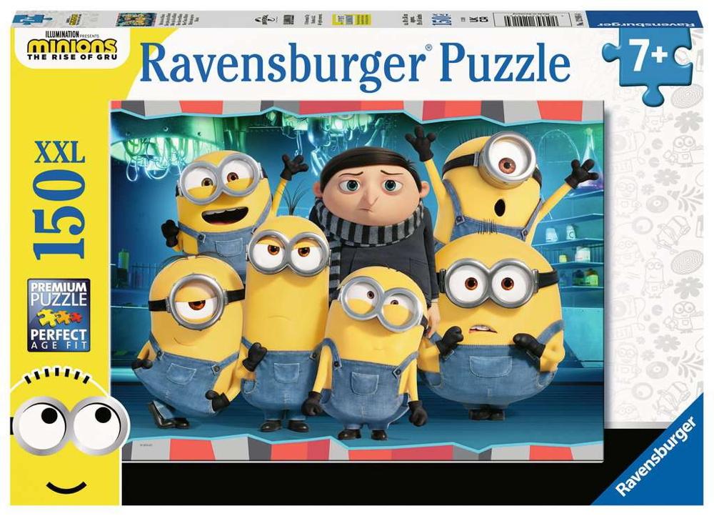 150 Teile Ravensburger Kinder Puzzle XXL Minion Mehr als ein Minion 12916