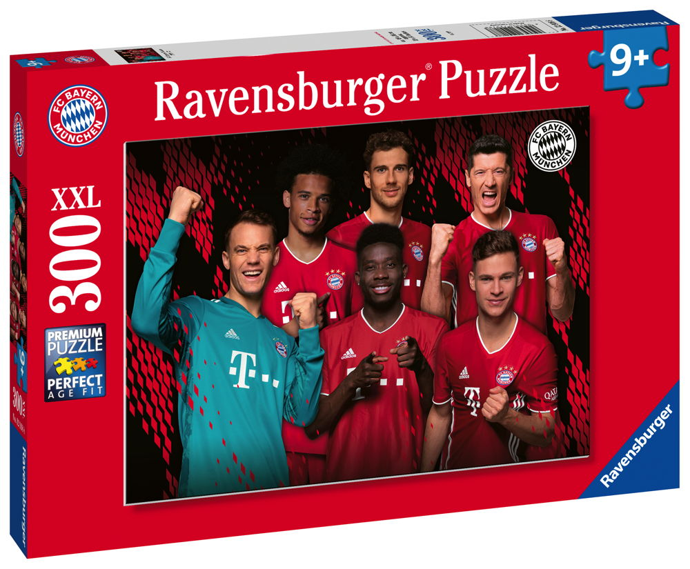 300 Teile Ravensburger Kinder Puzzle XXL FC Bayern München Saison 2019/2020 12918