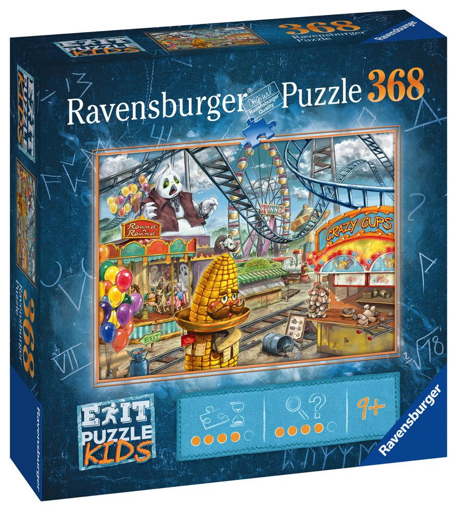 368 Teile Ravensburger Puzzle Exit Kids Im Freizeitpark 12926