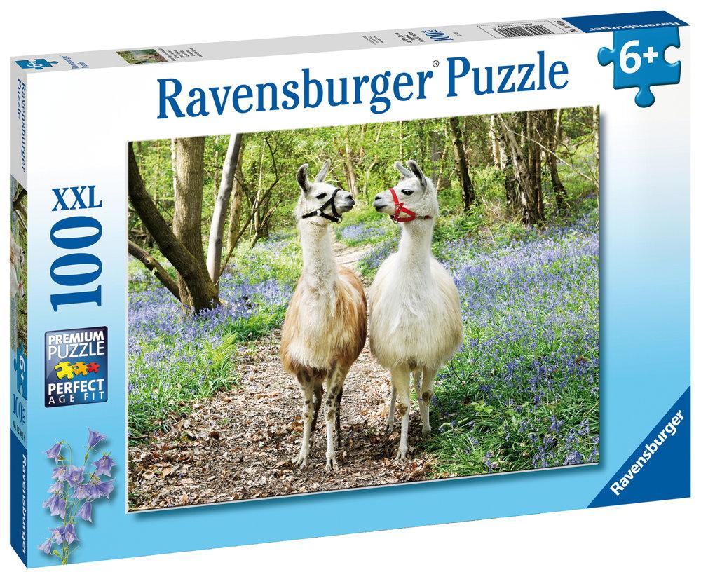 100 Teile Ravensburger Kinder Puzzle XXL Flauschige Freundschaft 12941