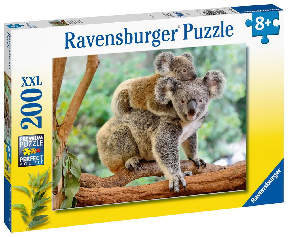 200 Teile Ravensburger Kinder Puzzle XXL Koalafamilie 12945