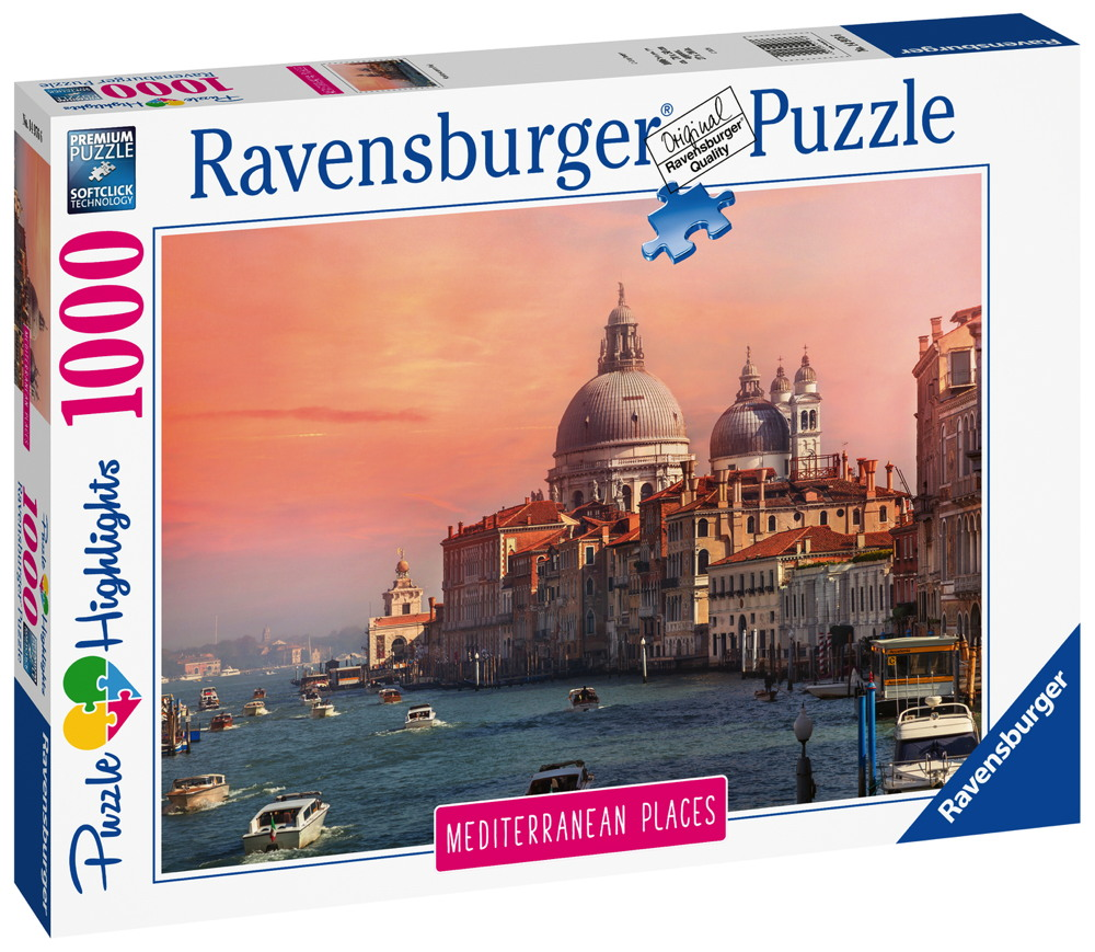 1000 Teile Ravensburger Puzzle Mediterranean Italy Italien 14976