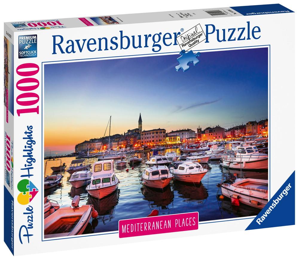 1000 Teile Ravensburger Puzzle Mediterranean Croatia Kroatien 14979