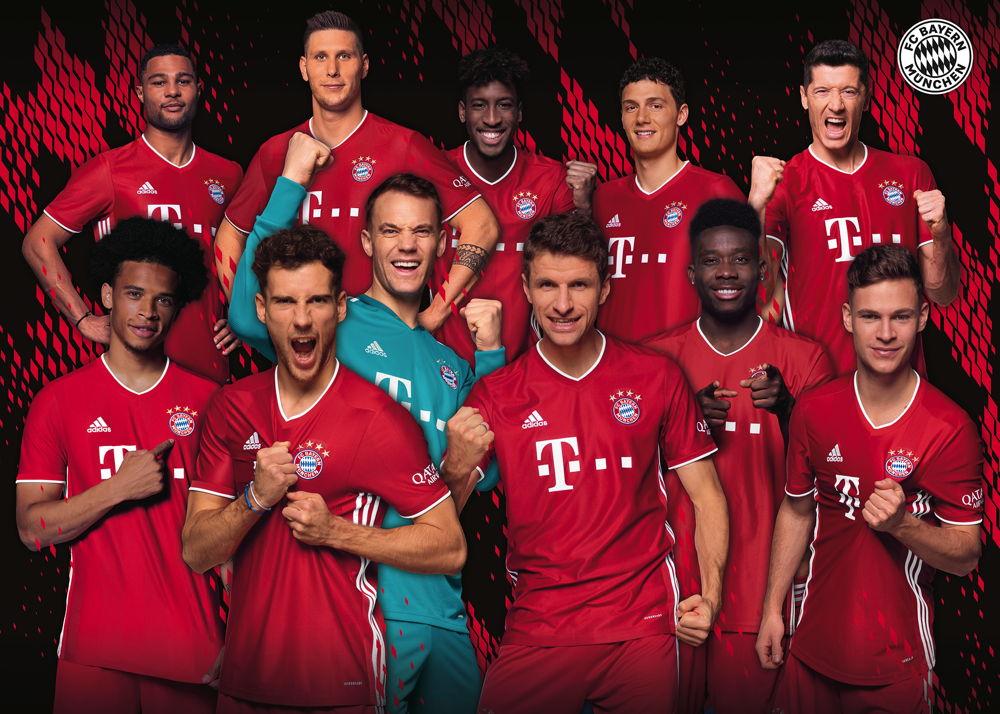 FC Bayern M/ünchen Erwachsenen Leibchen 5er Set