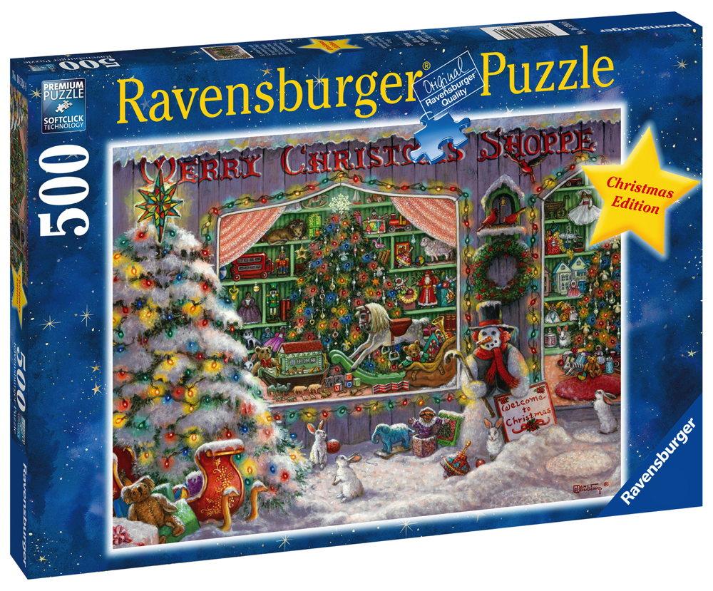 500 Teile Ravensburger Puzzle Weihnachten Es weihnachtet sehr 16534
