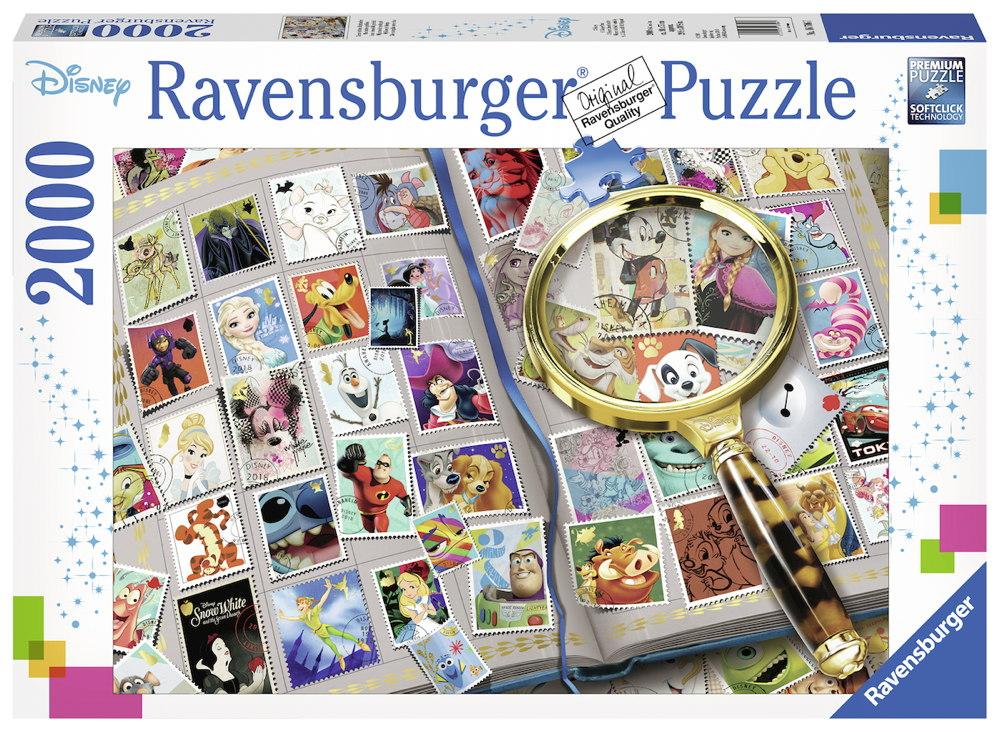 2000 Teile Ravensburger Puzzle Disney Meine liebsten Briefmarken 16706