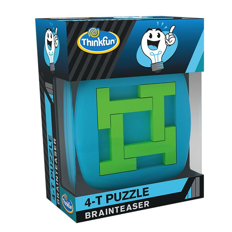 ThinkFun Familienspiel Logikspiel A-Ha! 4-T Puzzle Brainteaser 76382