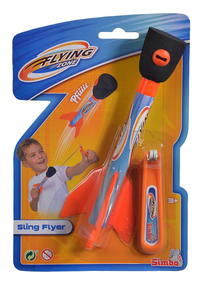 Simba Outdoor Spielzeug Wurfspiel Space Rocket Pfeifrakete Flying Zone 107202415