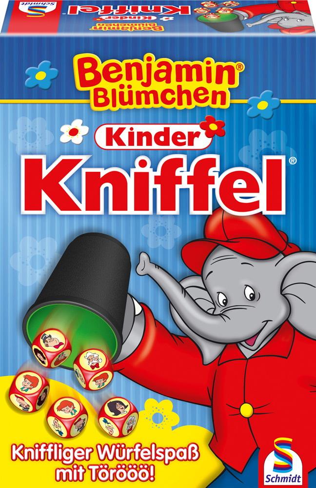Schmidt Spiele Kinderspiel Würfelspiel Kinder Kniffel Benjamin Blümchen 40390