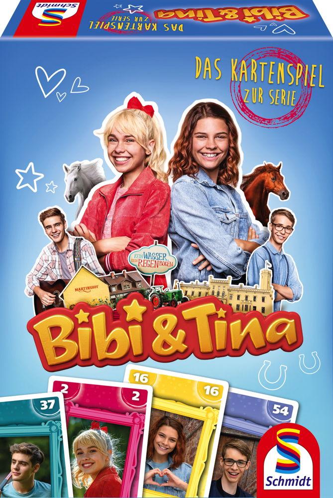 Schmidt Spiele Kartenspiel Bibi & Tina Das Kartenspiel zur Serie 40603