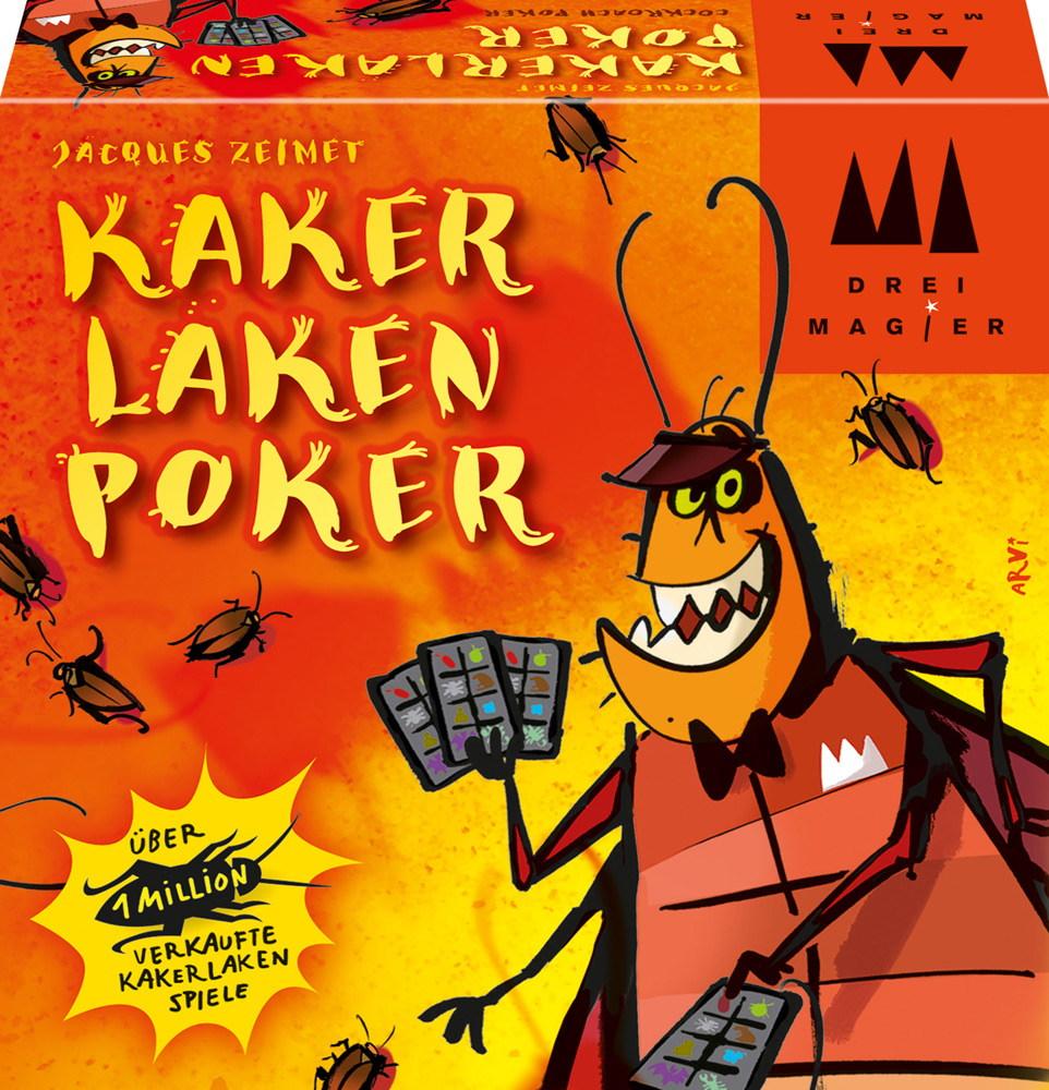 Drei Magier Kartenspiel Bluffspiel Kakerlakenpoker 40829