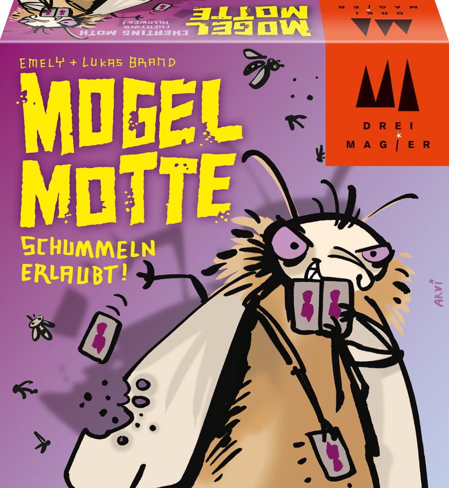 Drei Magier Kartenspiel Ablegespiel Mogel Motte 40862