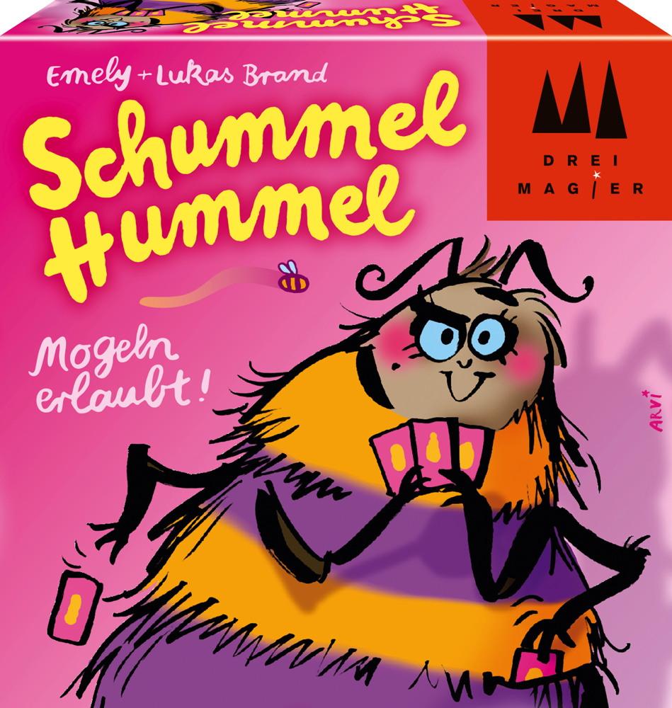 Drei Magier Kartenspiel Ablegespiel Schummel Hummel 40881