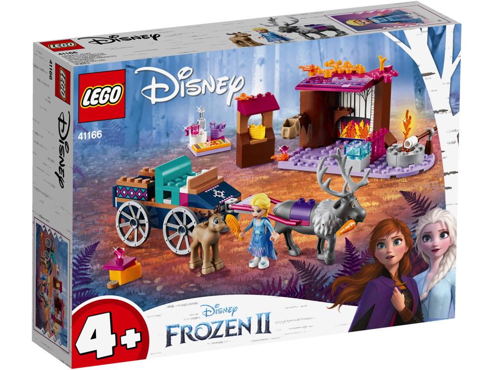 LEGO® Disney Frozen 2 Elsa und die Rentierkutsche 116 Teile 41166
