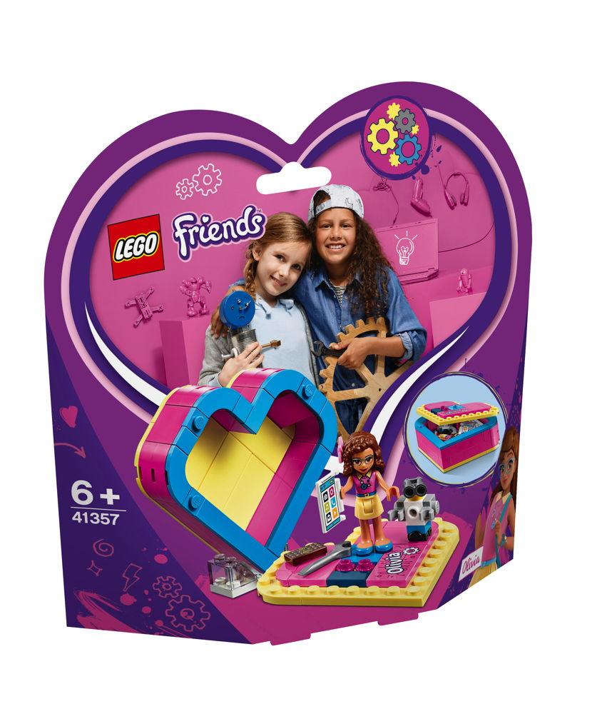 LEGO® Friends Olivias Herzbox 85 Teile 41357