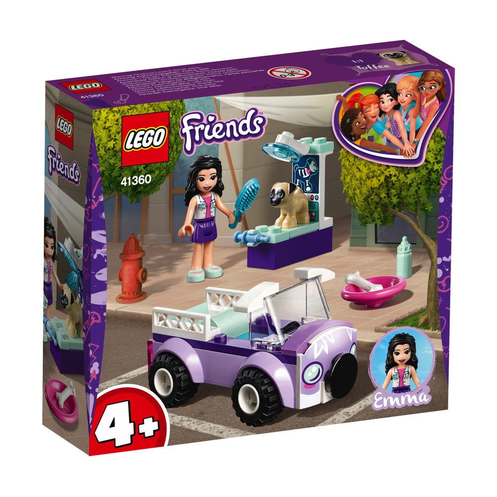 LEGO® Friends Emmas mobile Tierarztpraxis 50 Teile 41360