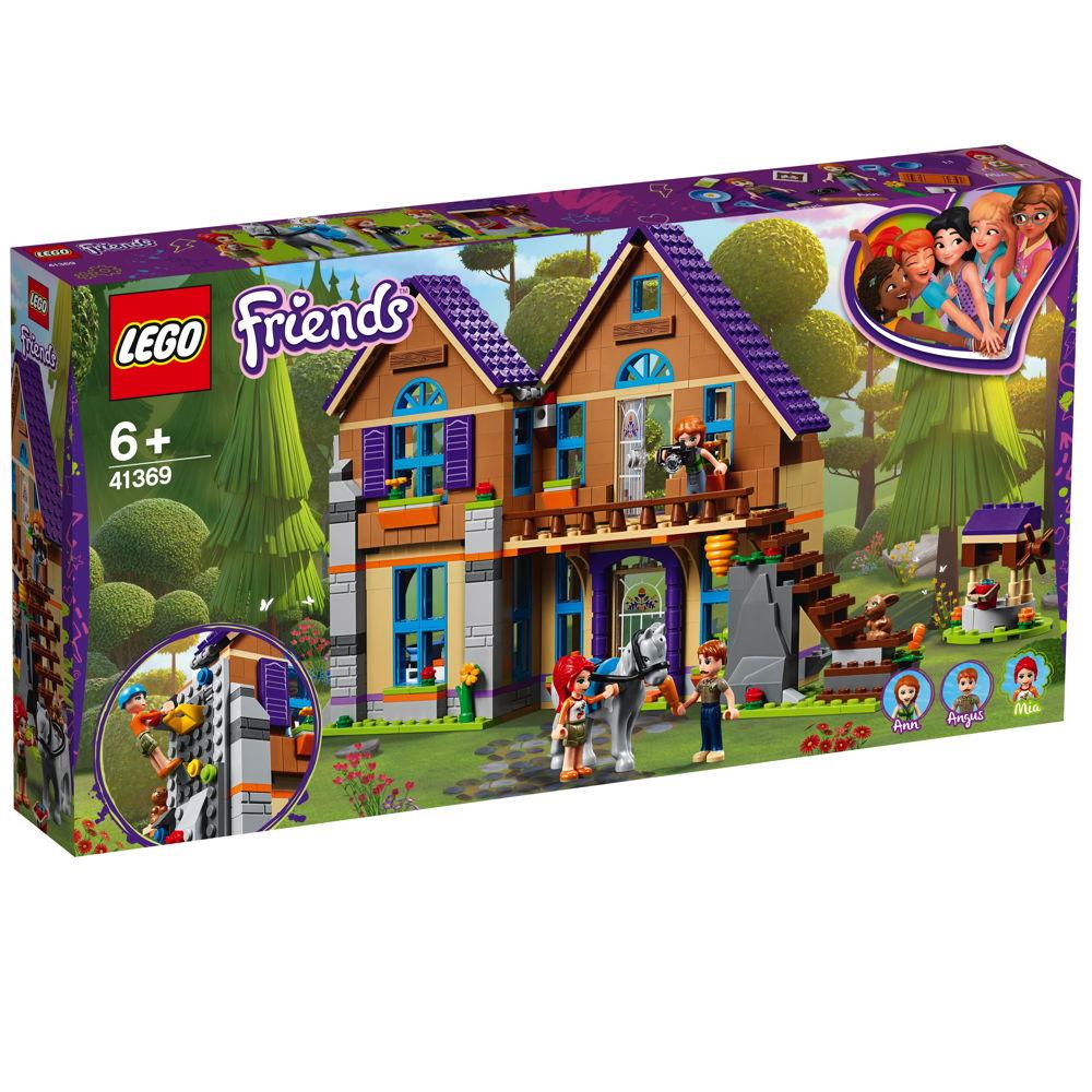 LEGO® Friends Mias Haus mit Pferd 715 Teile 41369