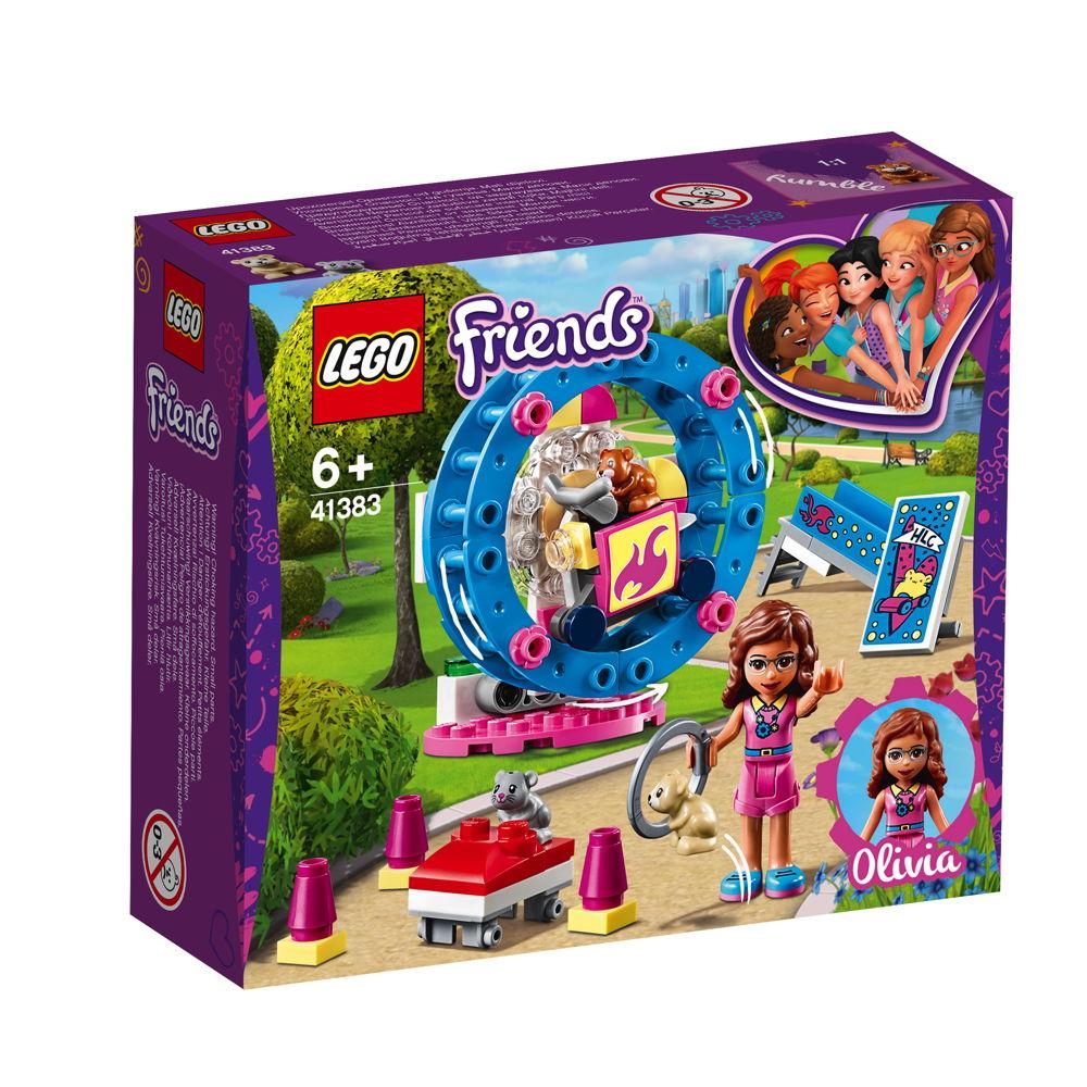 LEGO® Friends Olivias Hamster-Spielplatz 81 Teile 41383