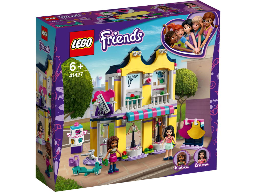 LEGO® Friends Emmas Mode-Geschäft 343 Teile 41427