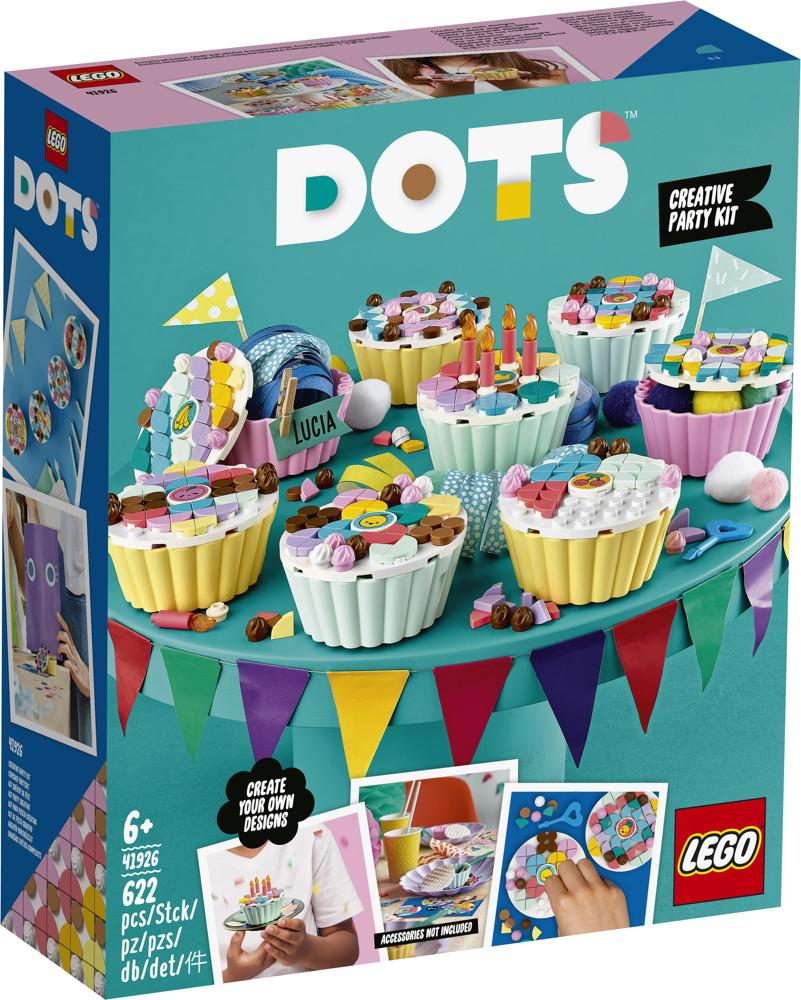 LEGO® DOTS Cupcake Partyset 623 Teile 41926