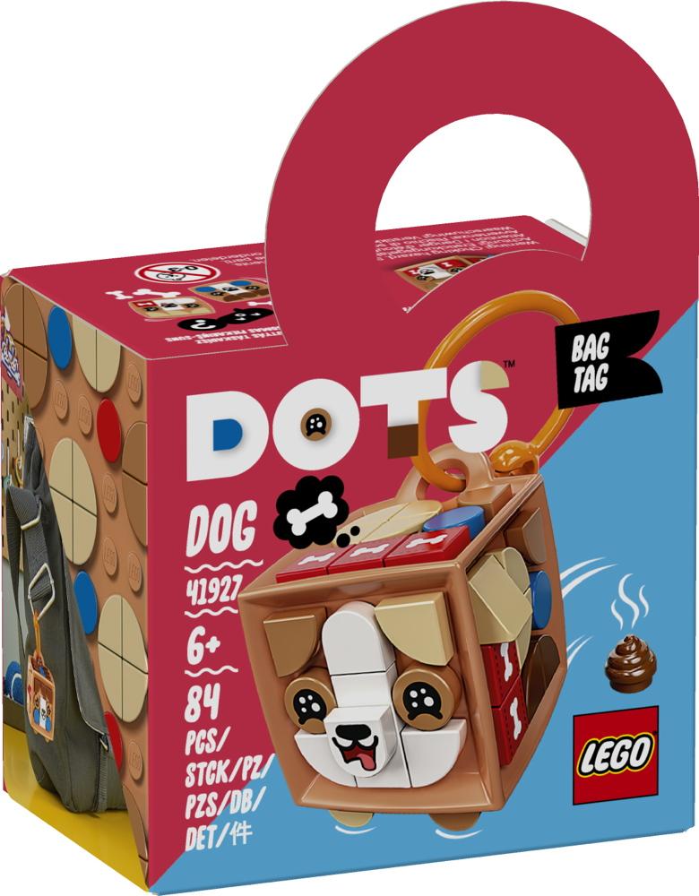 LEGO® DOTS Taschenanhänger Hund 84 Teile 41927