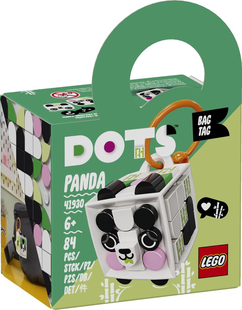 LEGO® DOTS Taschenanhänger Panda 84 Teile 41930