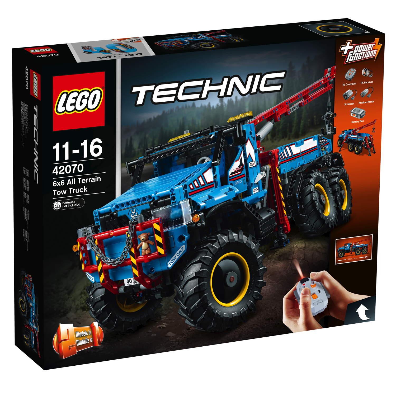 LEGO® Technic Allrad-Abschleppwagen 1862 Teile 42070