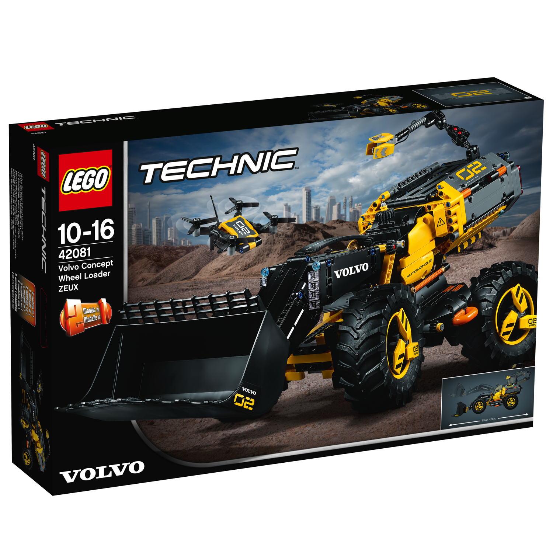 LEGO® Technic Volvo Konzept-Radlader ZEUX 1167 Teile 42081