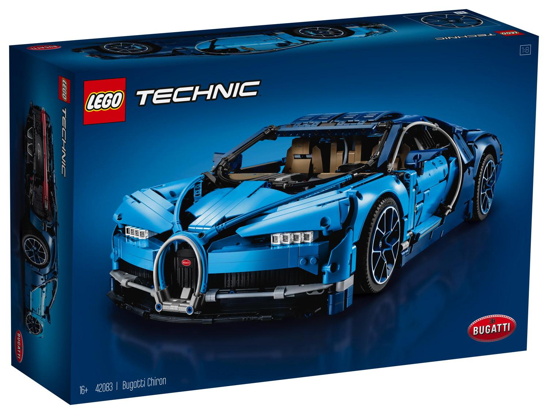 LEGO® Technic Bugatti Chiron 3599 Teile 42083