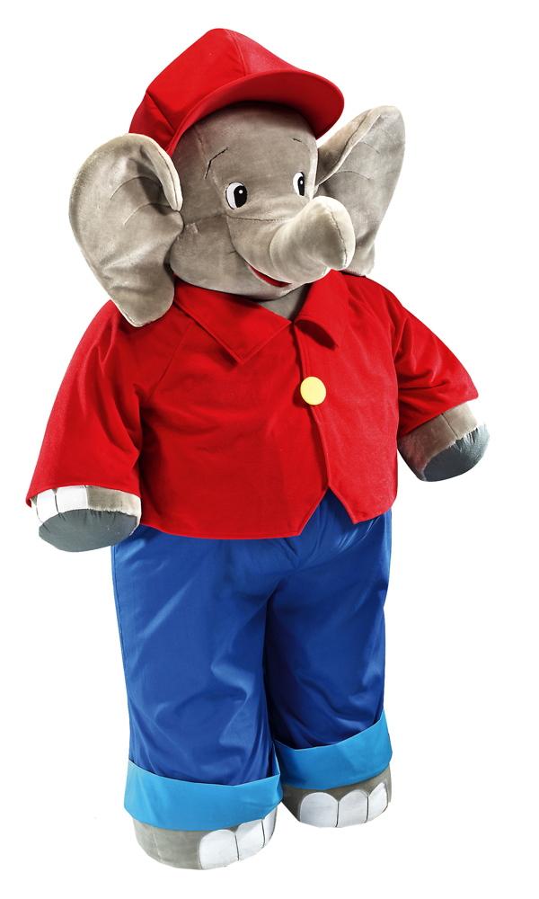 Schmidt Spiele Plüsch Stofftier Benjamin Blümchen Elefant 140 cm 42095