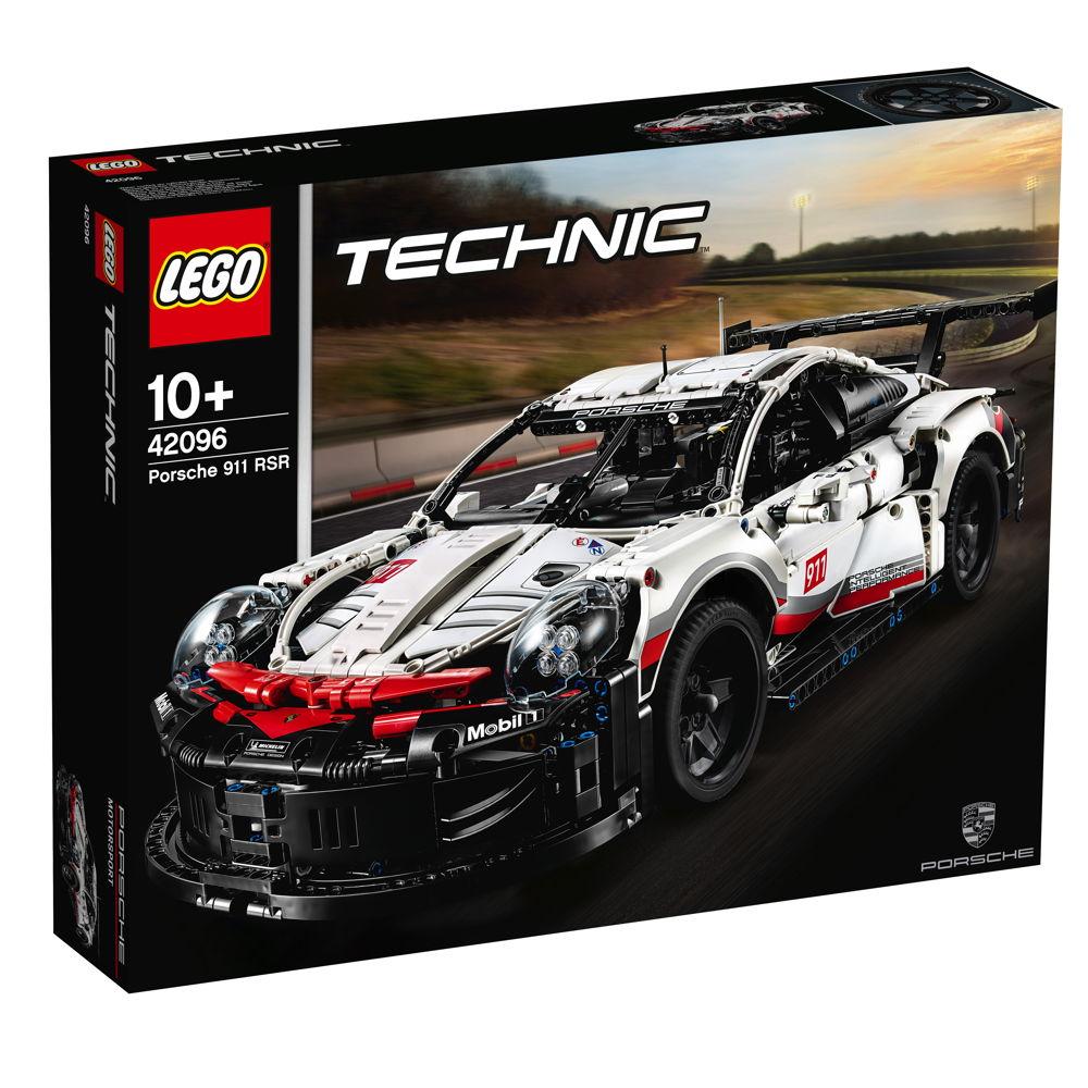 LEGO® Technic Porsche 911 RSR 1580 Teile 42096