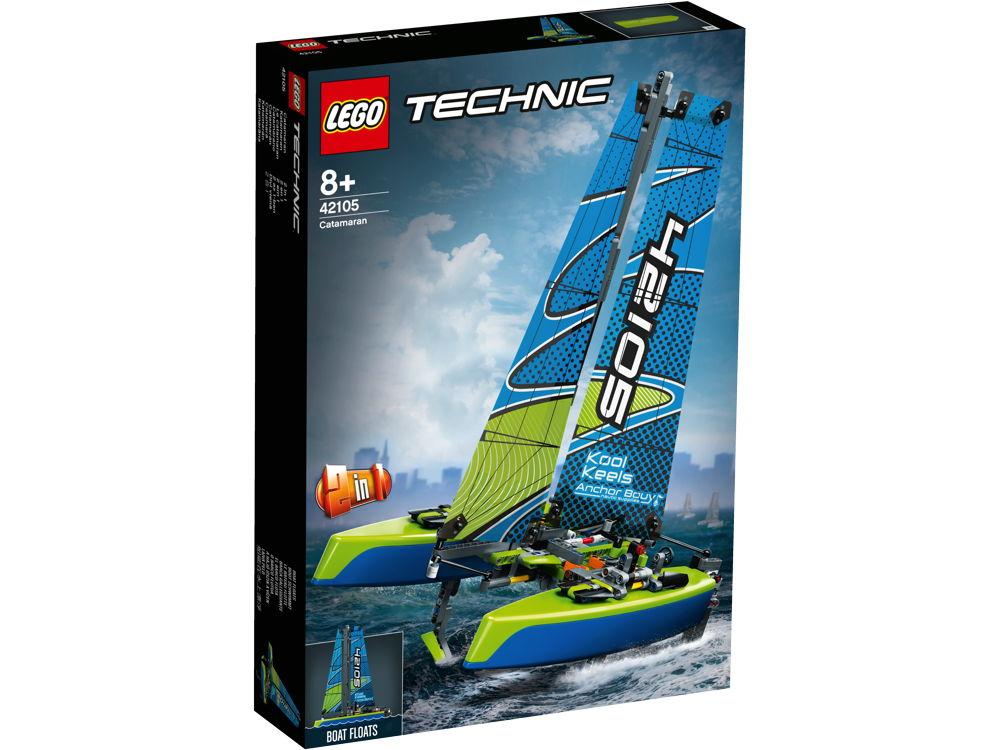 LEGO® Technic Katamaran 404 Teile 42105