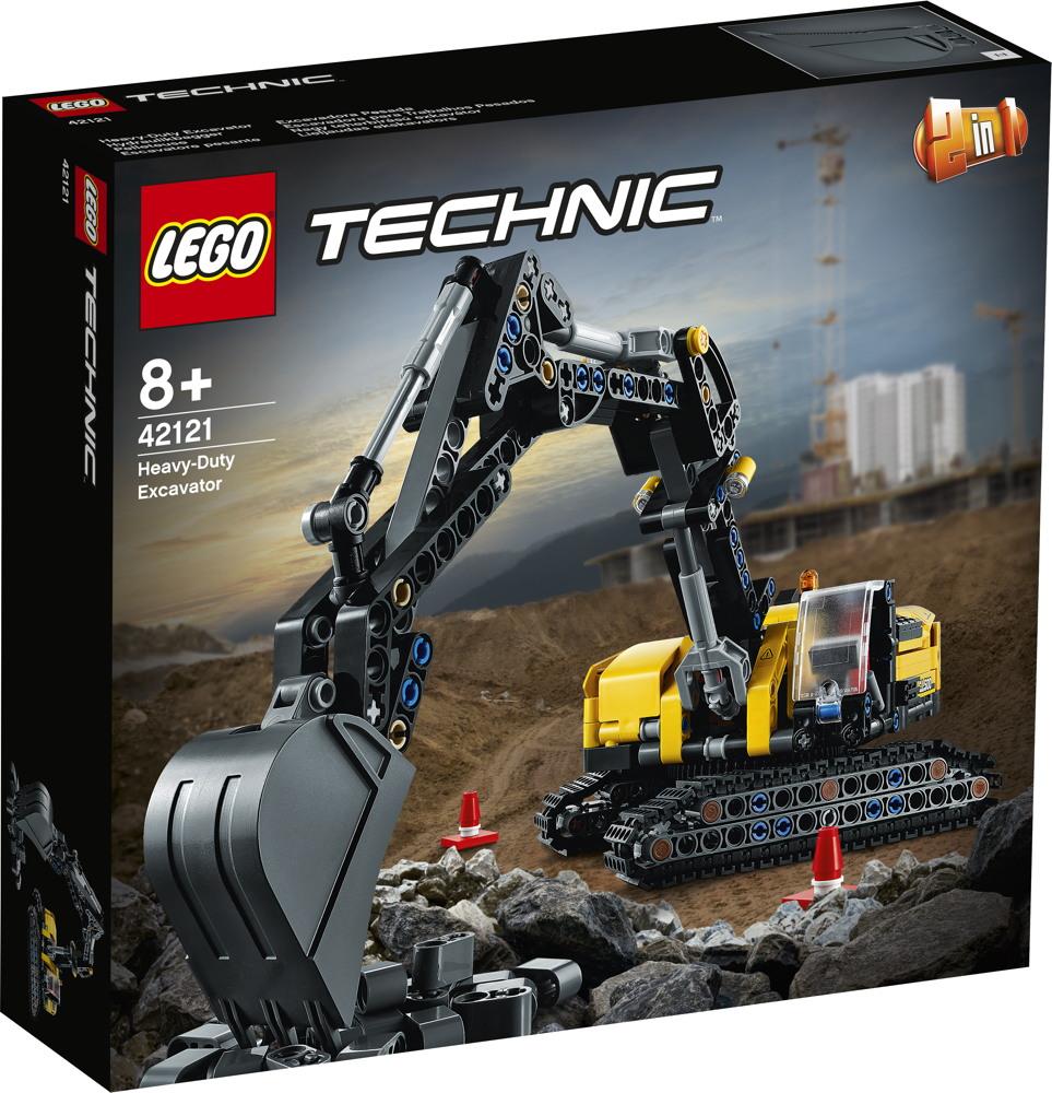 LEGO® Technic Hydraulikbagger 569 Teile 42121
