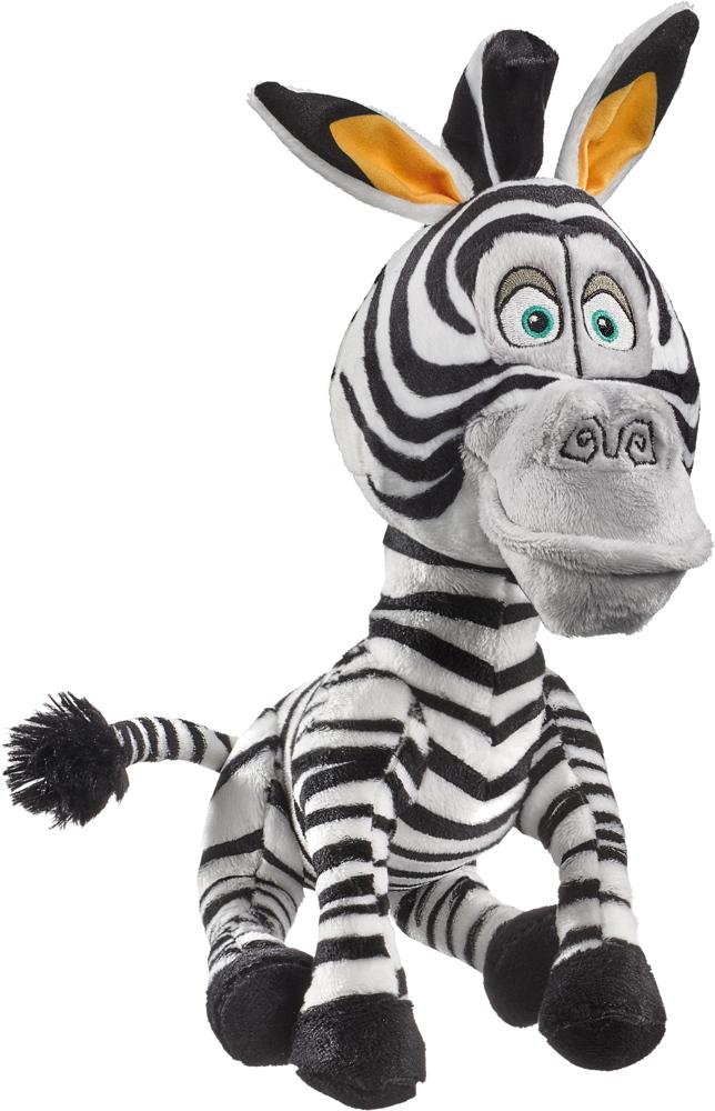 Schmidt Spiele Plüsch Stofftier Dreamworks Madagascar Marty, Zebra 25 cm 42708