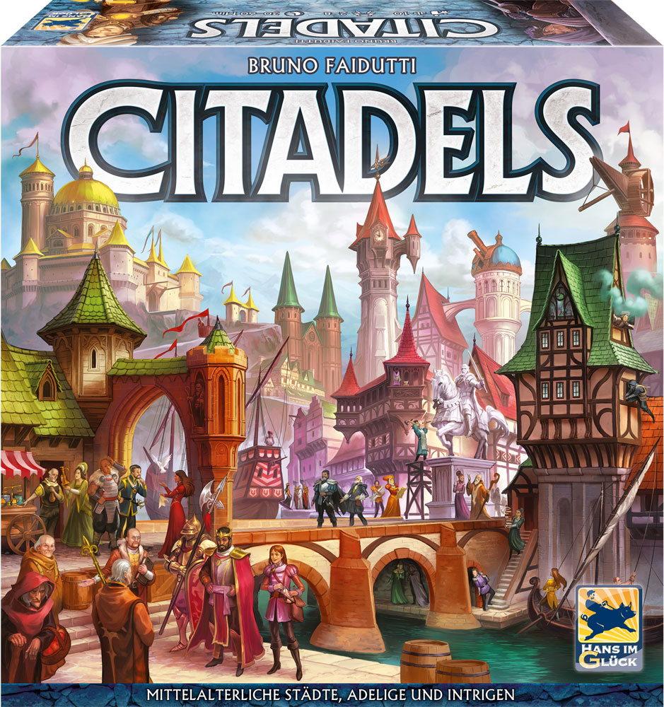Hans im Glück Kartenspiel Strategiespiel Citadels HIGD1007