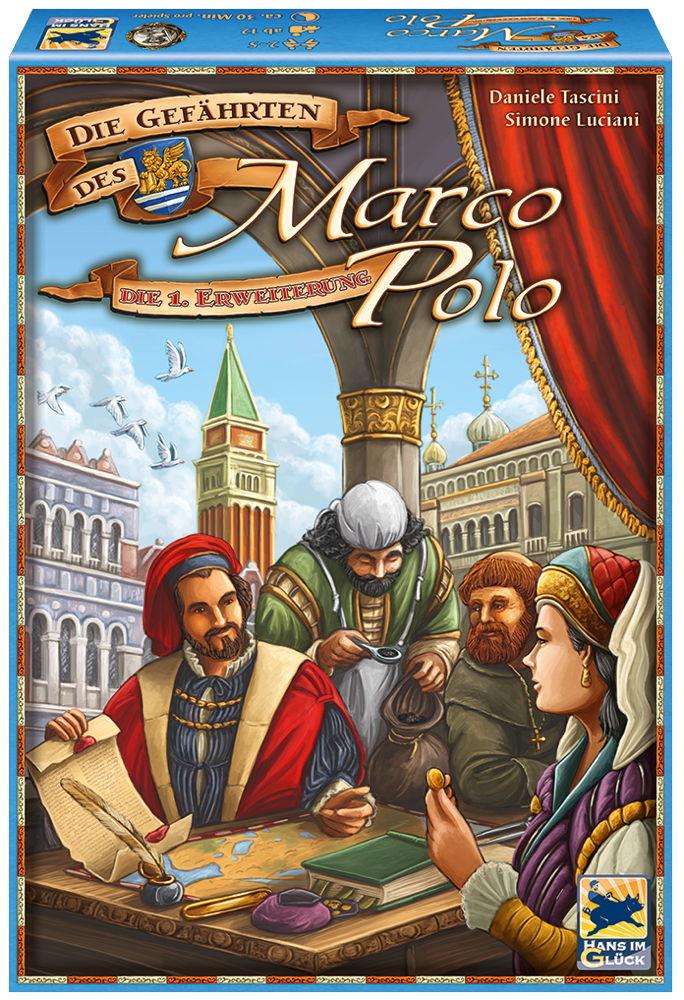 Hans im Glück Marco Polo 1. Erweiterung Die gefährten des Marco Polo HIGD1006