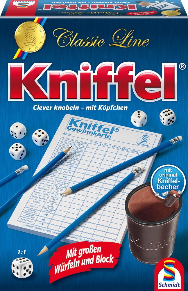 Kniffel Spielblock