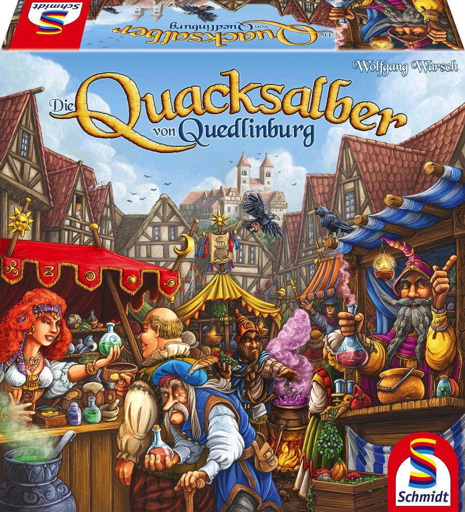 Schmidt Spiele Familienspiel Taktikspiel Die Quacksalber von Quedlinburg 49341