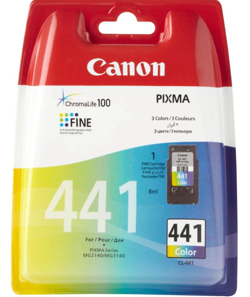 Canon Druckerpatrone Tinte CL-441 EMB tri-color, dreifarbig