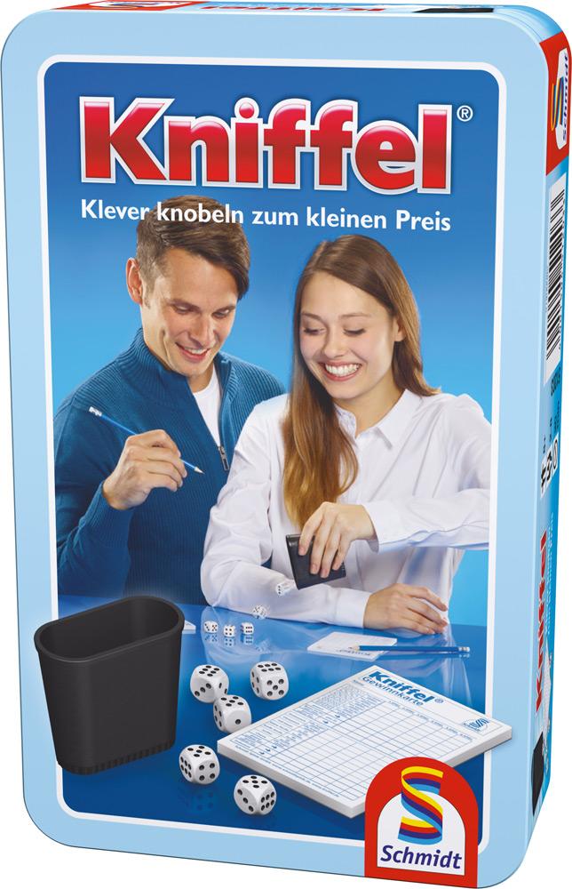 Schmidt Spiele Reisespiel Würfelspiel Kniffel 51203