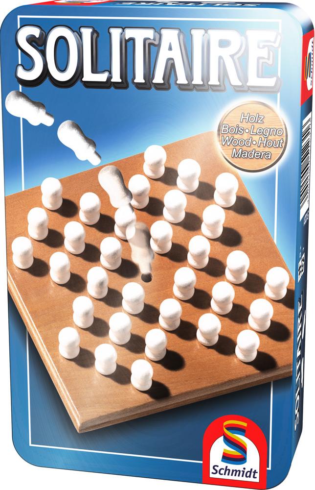 Schmidt Spiele Reisespiel Strategiespiel Solitaire 51231